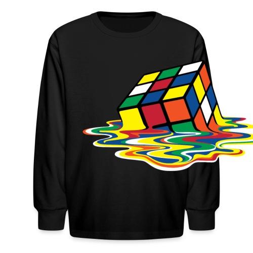 meltingcube - Kids' Long Sleeve T-Shirt