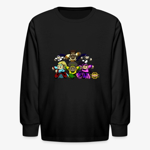 The Guardians of the Cloudgate w/ Logo - Kids' Long Sleeve T-Shirt