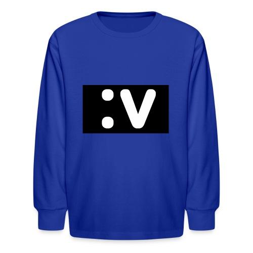 LBV side face Merch - Kids' Long Sleeve T-Shirt