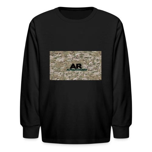 Alpha Ranger Apperal - Kids' Long Sleeve T-Shirt