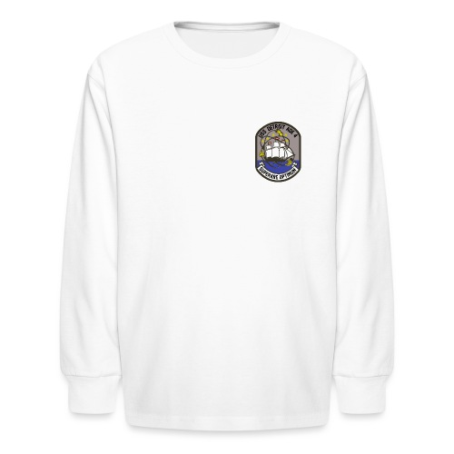 USS DETROIT COA - Kids' Long Sleeve T-Shirt