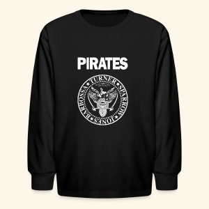 Punk Rock Pirates [heroes] - Kids' Long Sleeve T-Shirt