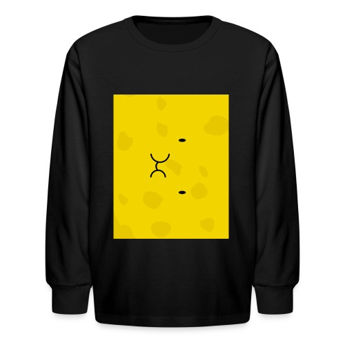 Spongy Case 5x4 - Kids' Long Sleeve T-Shirt