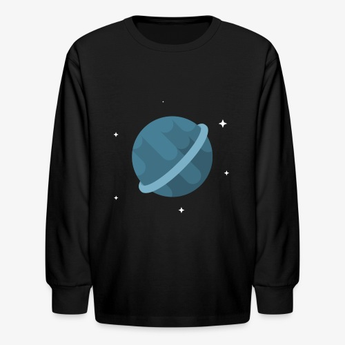 Tiny Blue Planet - Kids' Long Sleeve T-Shirt