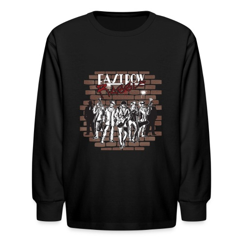 East Row Rabble - Kids' Long Sleeve T-Shirt