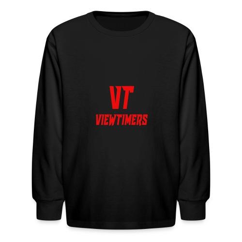 ViewTimers Merch - Kids' Long Sleeve T-Shirt