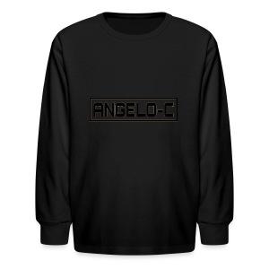 red angelo clifford shirt - Kids' Long Sleeve T-Shirt