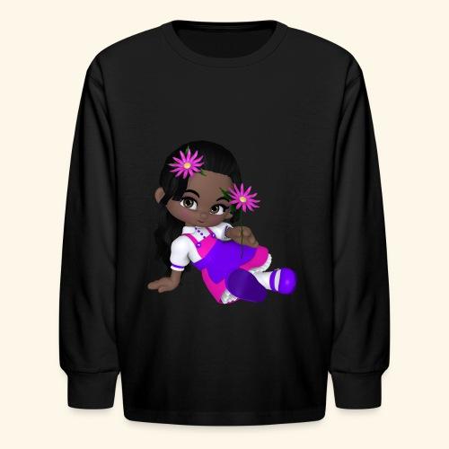 african dall - Kids' Long Sleeve T-Shirt