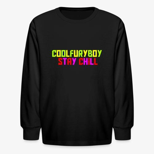 CoolFuryBoy - Kids' Long Sleeve T-Shirt