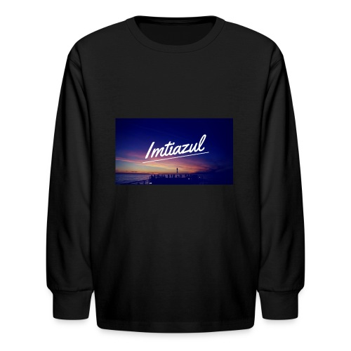 Copy of imtiazul - Kids' Long Sleeve T-Shirt