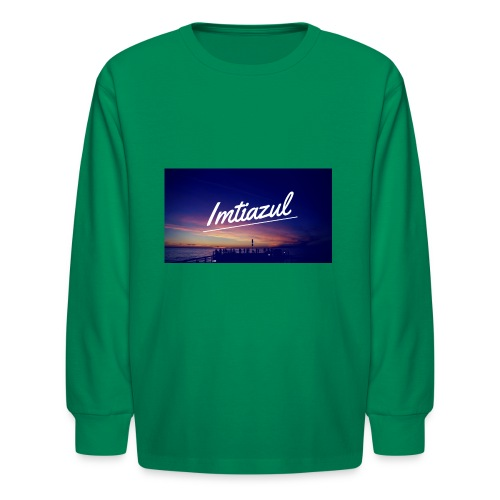 Copy of imtiazul - Kids' Long Sleeve T-Shirt