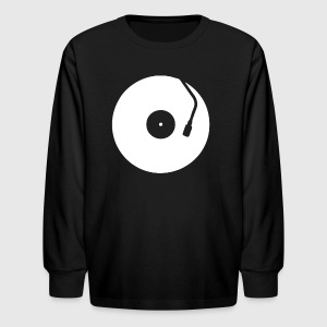 Record - Kids' Long Sleeve T-Shirt