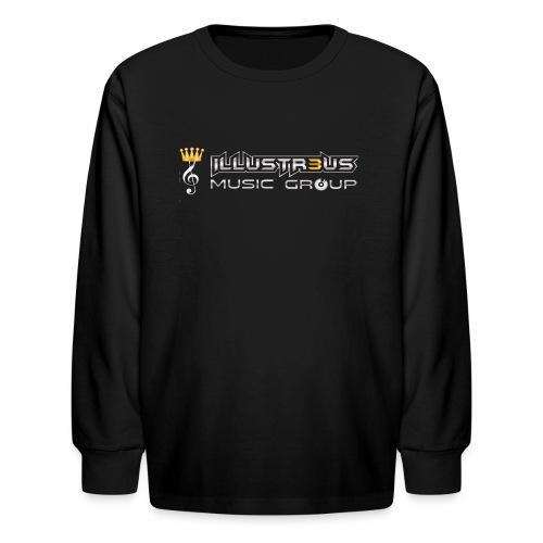ILLUSTR3US MUSIC GROUP - Kids' Long Sleeve T-Shirt