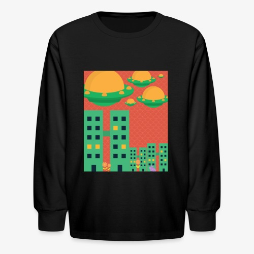 wierd stuff - Kids' Long Sleeve T-Shirt