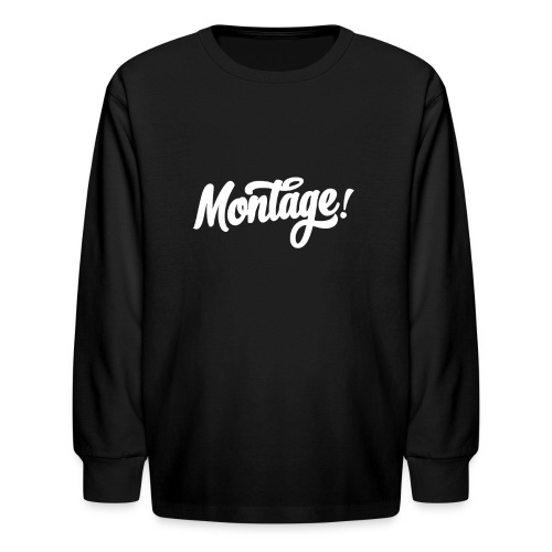Montage - Kids' Long Sleeve T-Shirt
