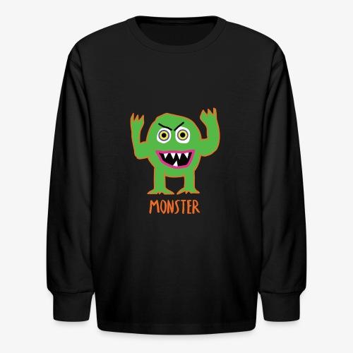 Monster - Kids' Long Sleeve T-Shirt