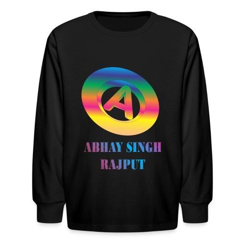 abhay - Kids' Long Sleeve T-Shirt