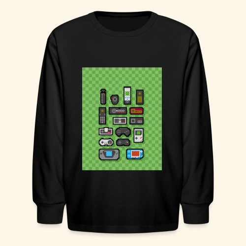 controller handy - Kids' Long Sleeve T-Shirt