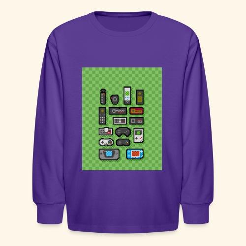 controller handy - Kids' Long Sleeve T-Shirt