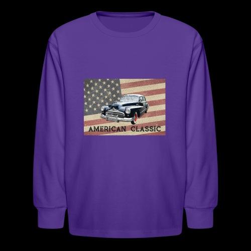 Classic Buick - Kids' Long Sleeve T-Shirt