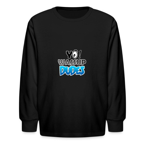 Official CaseyDude Merch! - Kids' Long Sleeve T-Shirt