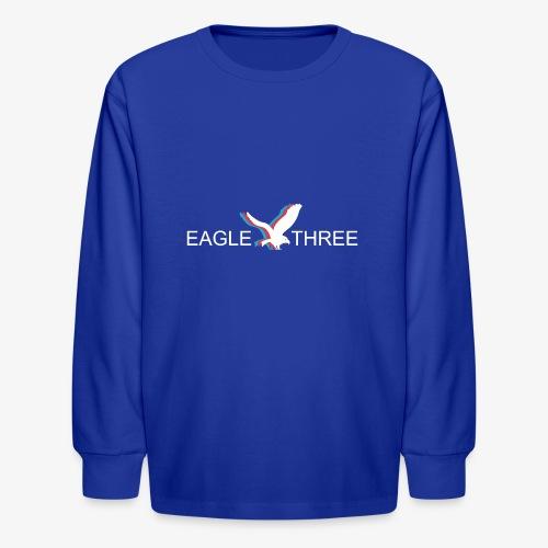 EAGLE THREE APPAREL - Kids' Long Sleeve T-Shirt