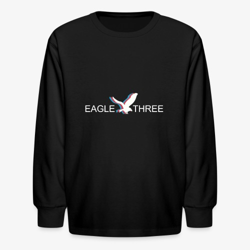 EAGLE THREE APPAREL - Kids' Long Sleeve T-Shirt