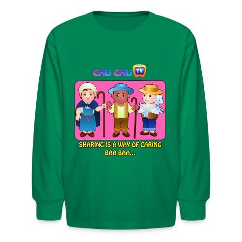 Motivational Slogan 3 - Kids' Long Sleeve T-Shirt