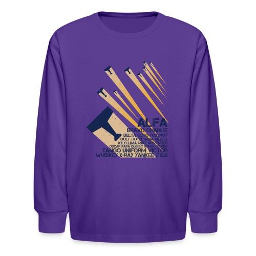International Phonetic Alphabet - Kids' Long Sleeve T-Shirt
