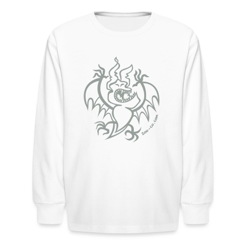 Scaring Bat - Kids' Long Sleeve T-Shirt