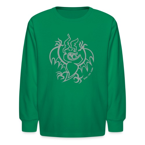 Scaring Bat - Kids' Long Sleeve T-Shirt