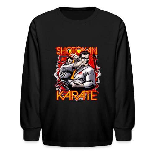 Shotokan Karate - Kids' Long Sleeve T-Shirt