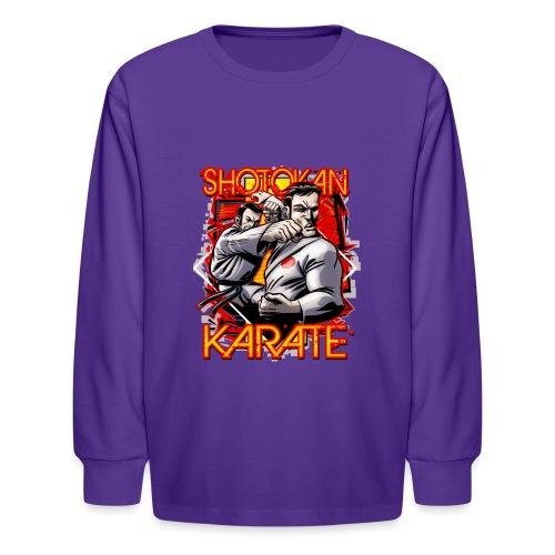 Shotokan Karate - Kids' Long Sleeve T-Shirt