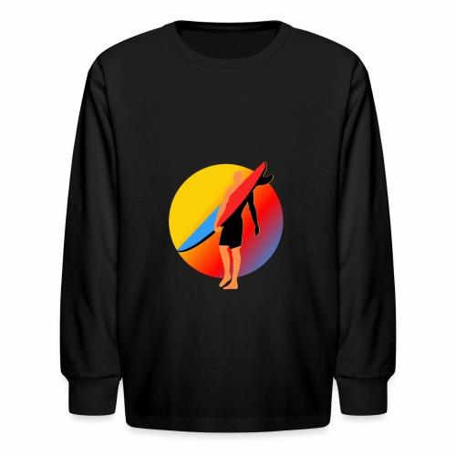 SURFER - Kids' Long Sleeve T-Shirt