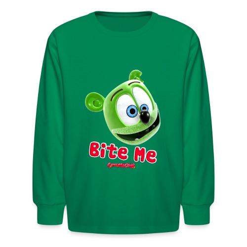 Bite Me - Kids' Long Sleeve T-Shirt