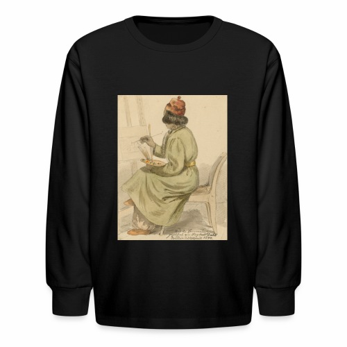 rs portrait sp 02 - Kids' Long Sleeve T-Shirt