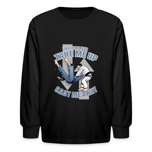 Like Excalibur - Kids' Long Sleeve T-Shirt