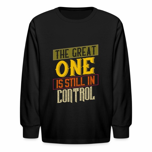THE GREAT ONE - NEUTRAL - Kids' Long Sleeve T-Shirt