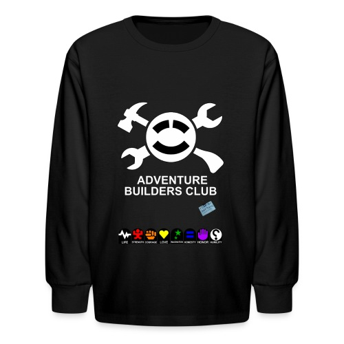 Adventure Builders Club - Kids' Long Sleeve T-Shirt