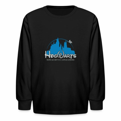Castle Mashup - Kids' Long Sleeve T-Shirt