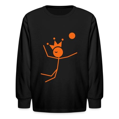 Volleyball King - Kids' Long Sleeve T-Shirt