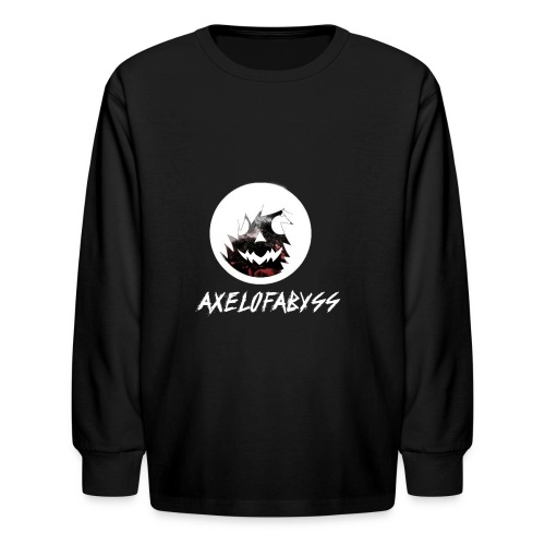 Axelofabyss Red with Nature - Kids' Long Sleeve T-Shirt
