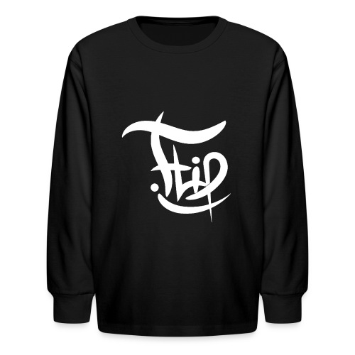 Flip Signature - Kids' Long Sleeve T-Shirt