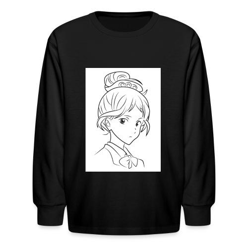 Girl - Kids' Long Sleeve T-Shirt
