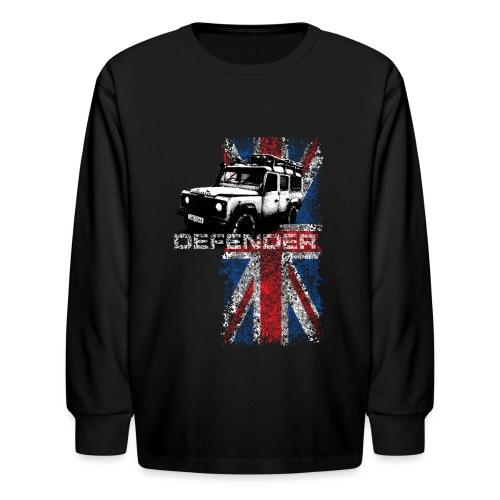 Land Rover Defender - AUTONAUT.com - Kids' Long Sleeve T-Shirt