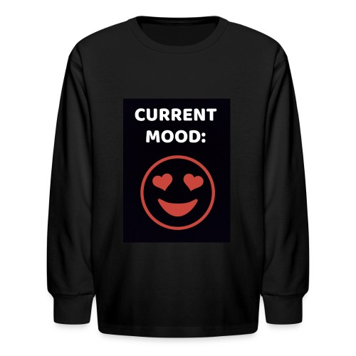 Love current mood by @lovesaccessories - Kids' Long Sleeve T-Shirt