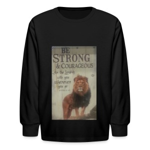 lion updates picture - Kids' Long Sleeve T-Shirt