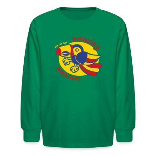 Amazonian Toucan - Kids' Long Sleeve T-Shirt