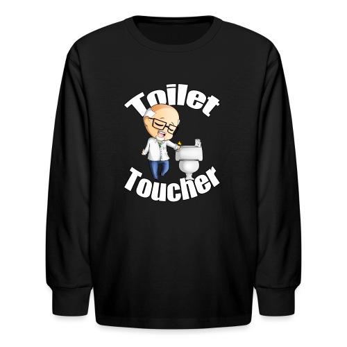 toilet toucher png - Kids' Long Sleeve T-Shirt