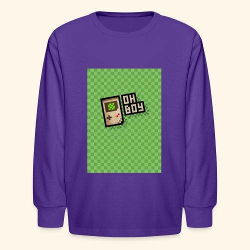 oh boy handy - Kids' Long Sleeve T-Shirt